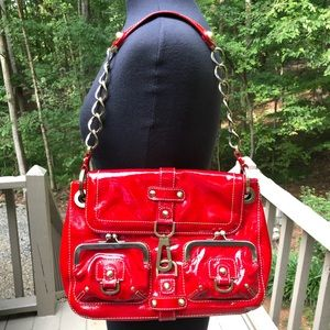 ❤️FIRM Rafe New York Red Patent Leather Bag